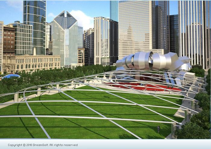 3D Exterior Design Architecture 3d