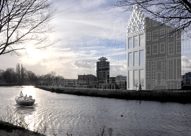 A Fully 3D-printed House To Be Built In Amsterdam